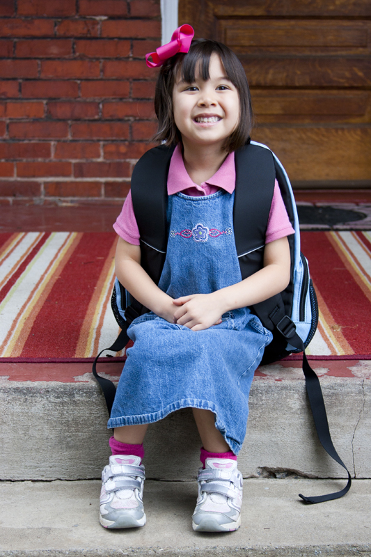 """Jade's 1st Day of """"Camp Kindergarten"""""""